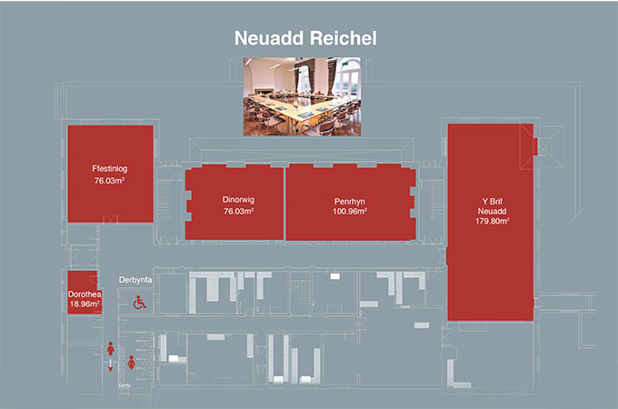 Layout of Reichel Hall