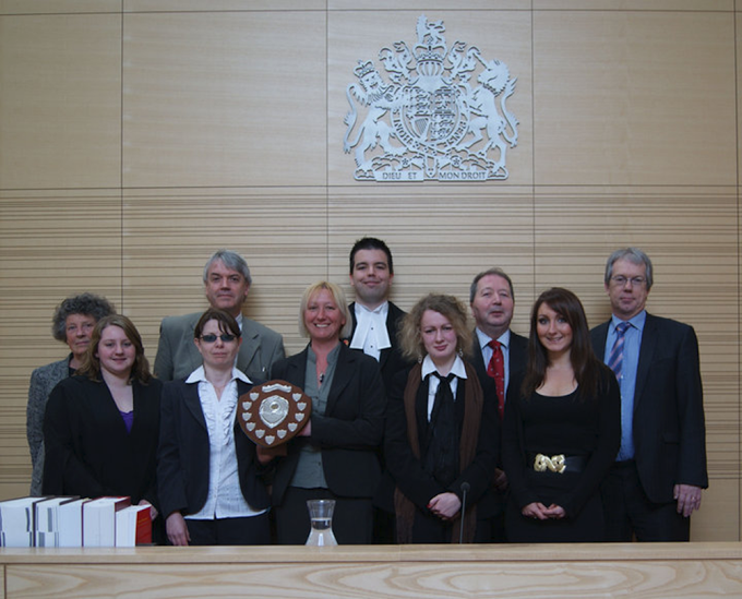 McLaren Moot Court Competition, 2009