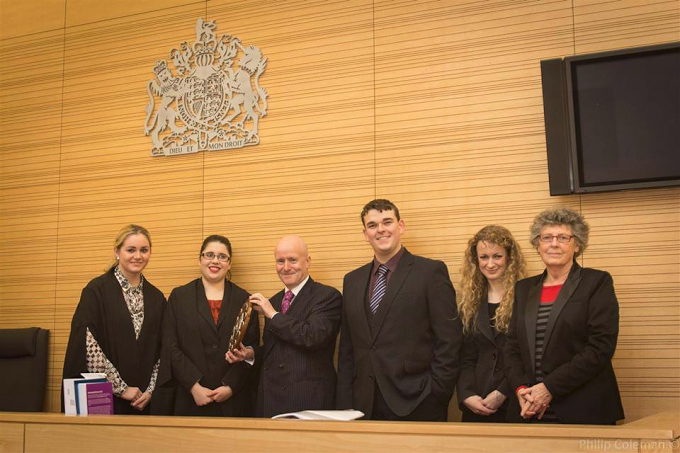 McLaren Moot Court Competition, 2013