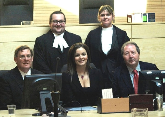 McLaren Moot Court Competition, 2014