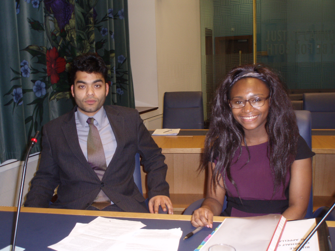 BULSM 2013 winners - Mohammed Khorasanee and Miriam Mbah