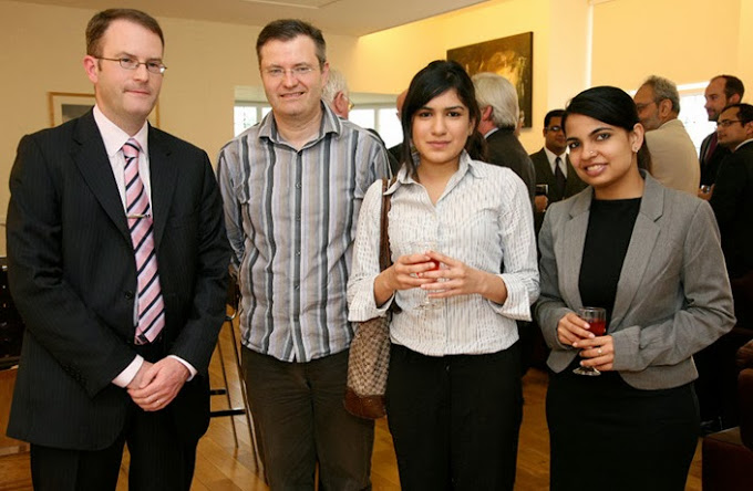 Guests at the International Competition Law conference held at Bangor Law School in July 2011
