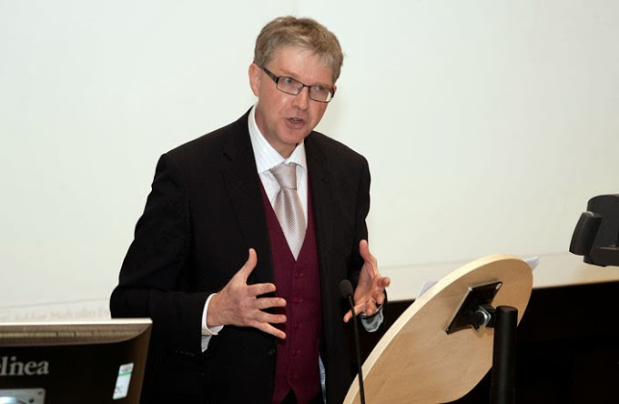 Professor Malcolm Evans OBE delivers a lecture on 'Freedom of thought, conscience and religion - the right that lost its way?', January 2012
