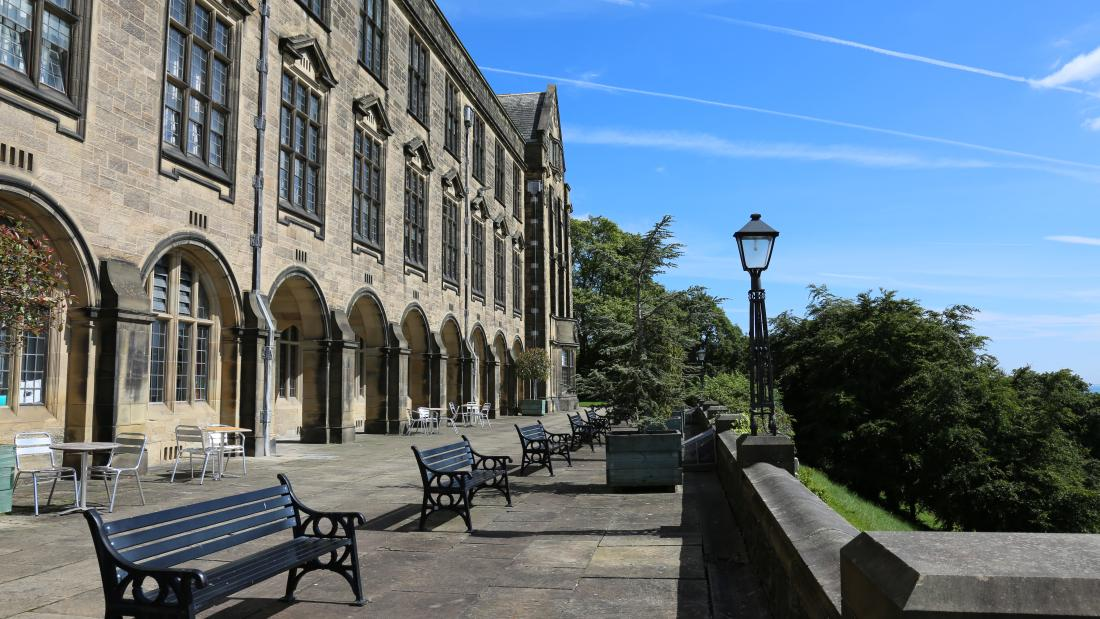 The Terrace at the Main Arts Building