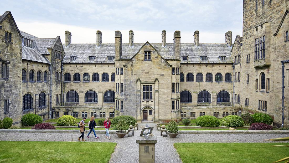 Bangor University's Main Arts Building