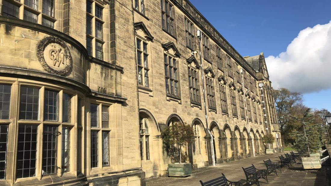 The Main Arts Building, Bangor University