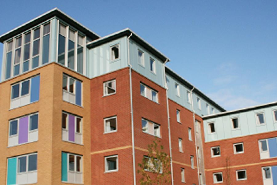 Student Accommodation - Enlli Halls of Residence at Ffriddoedd Student Village