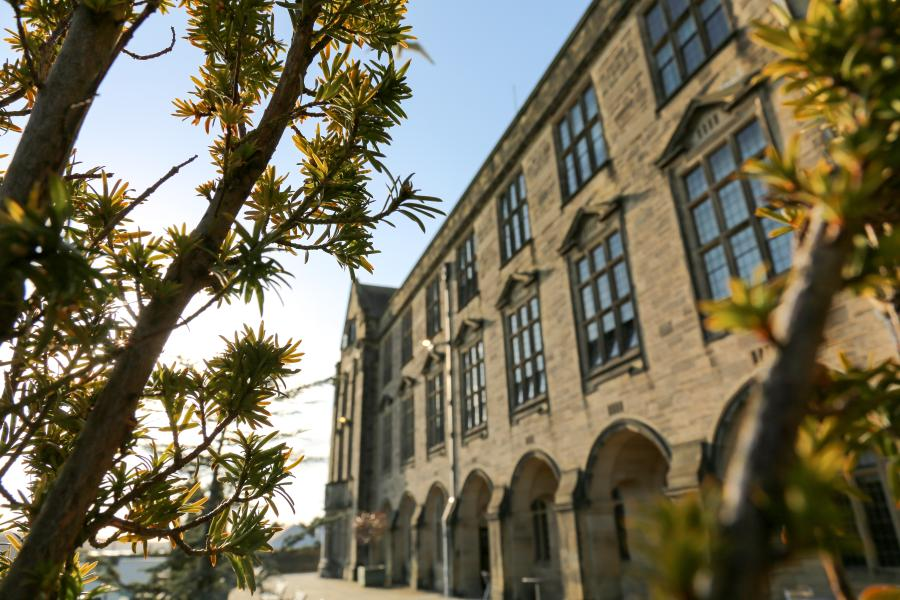 Bangor University Main Arts building