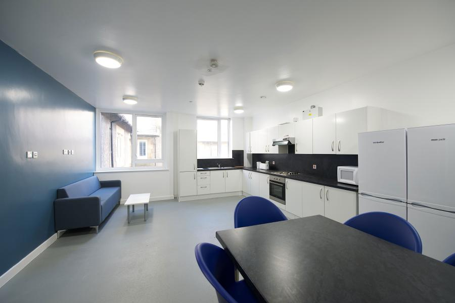 Shared Kitchen at St Mary's Student Village
