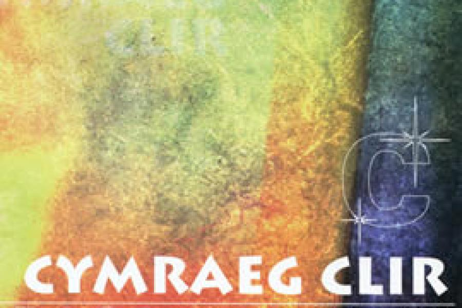 Image of the front cover of the Cymraeg Clir handbook