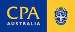 Logo for CPA Australia - a professional accounting body