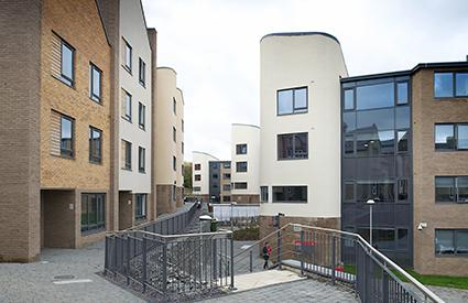 Studio accommodation at St Mary's Student Village