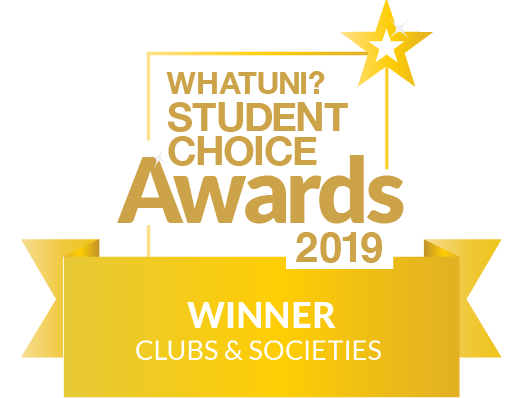 Whatuni clubs and societies winner logo